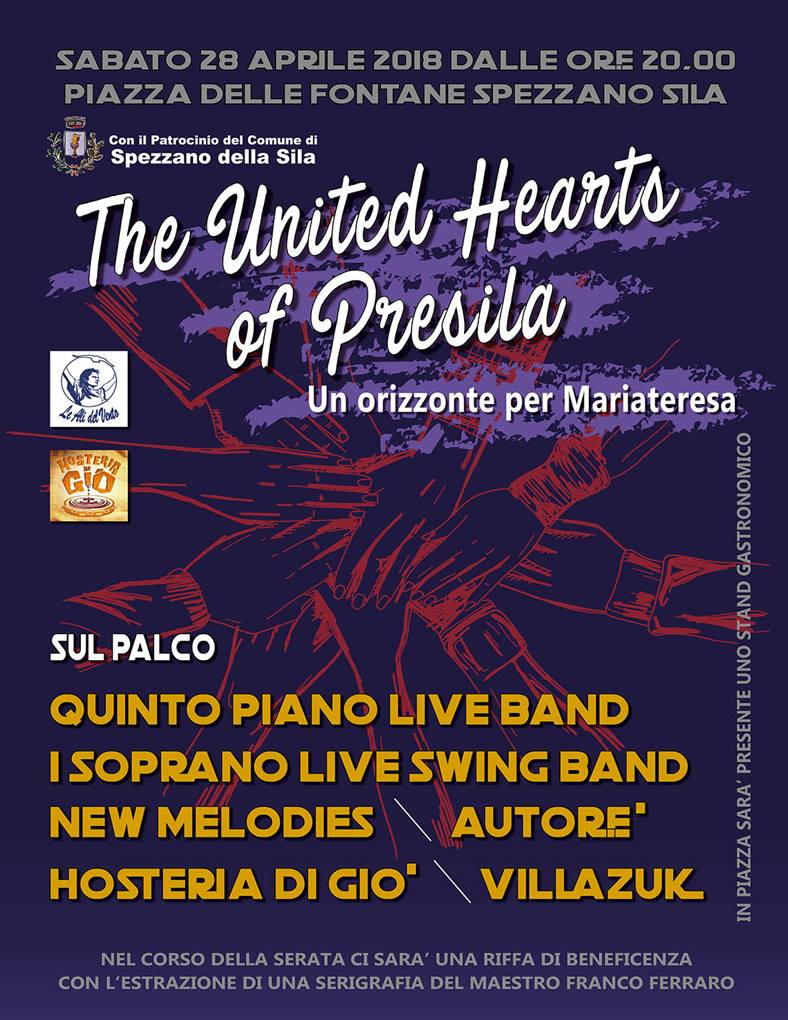 Il Calendario Del Savuto 2018.The United Hearts Of Presila