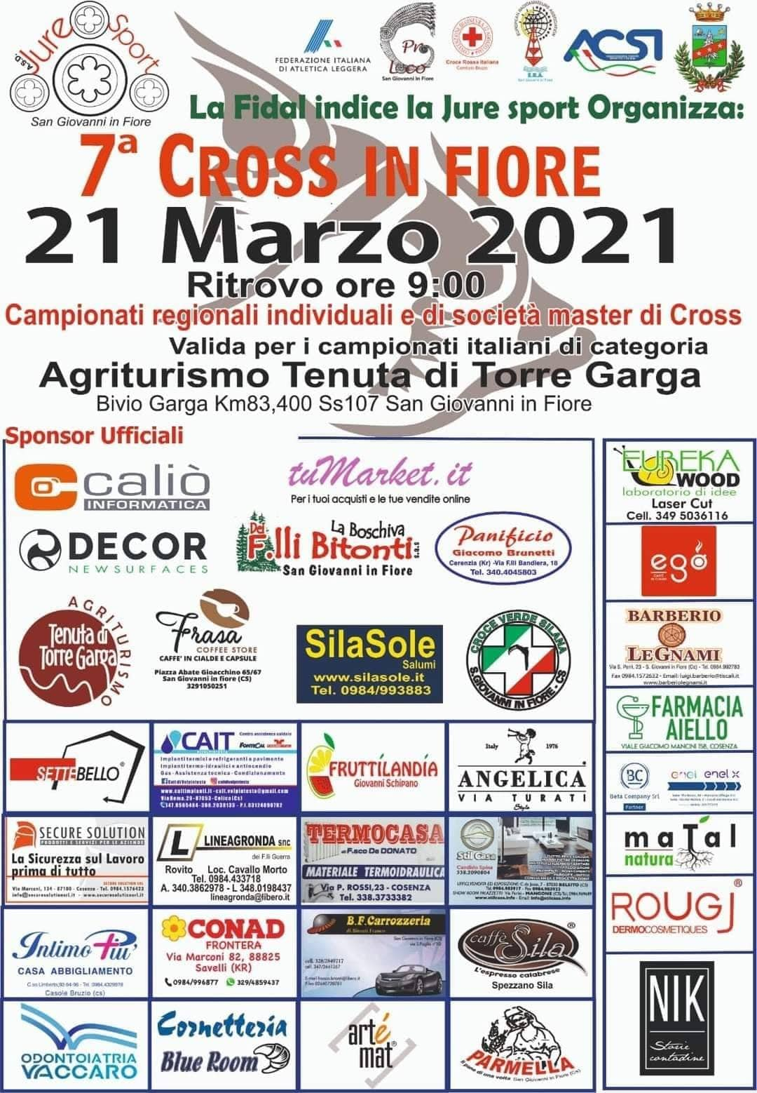 Cross In Fiore 2021 atletica l...
